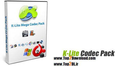 مالتی مدیا K-Lite Codec Pack 9.40 Mega & Full