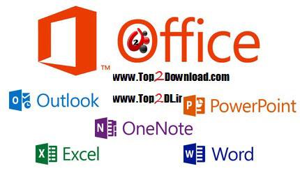 نرم افزار مایکروسافت آفیس 2013 Microsoft Office Professional Plus 2013 x86