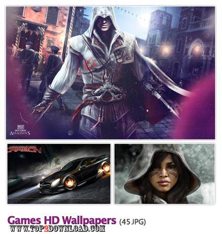 مجموعه ۴۵ والپیپر زیبا با موضوع گیم Games HD Wallpapers