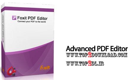 نرم افزار حرفه ای و کامل پی دی اف Foxit Advanced PDF Editor 3.00