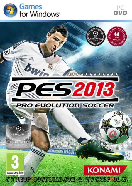 دانلود PES 2013 فوتبال تکامل حرفه ای