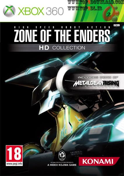 دانلود بازی Zone of the Enders HD Collection برای Xbox 360
