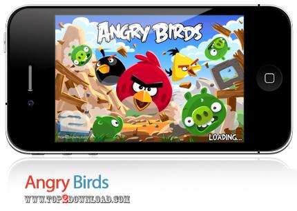 دانلود Angry Birds بازی موبایل پرندگان خشمگین