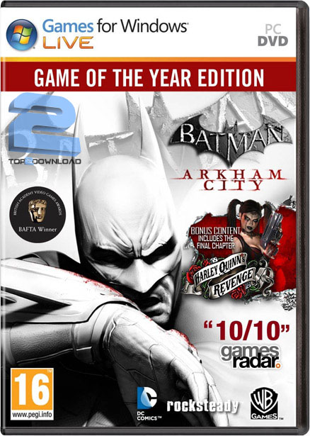 دانلود آپدیت ۱٫۰۱ بازی Batman Arkham City