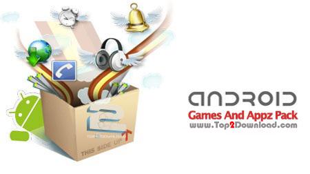 دانلود پک بازی و برنامه های جدید آندروید Android Games And Appz Pack