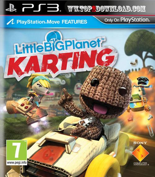 Little Big Planet Karting   تاپ 2 دانلود