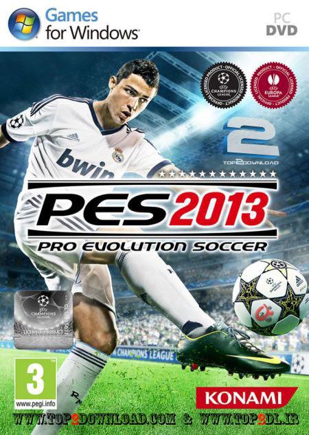 دانلود پچ جدید بازی PES 2013 با نام PESEdit.com 2013 Patch 2.6