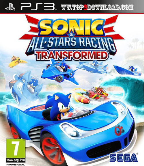 دانلود بازی Sonic & All Star Racing Transformed برای PS3