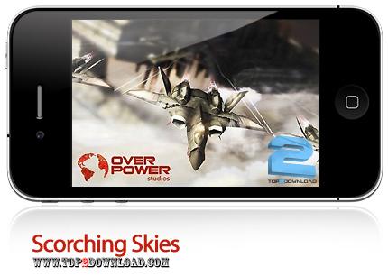دانلود Scorching Skies - بازی موبایل آسمان سوزان