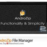 دانلود نرم افزار مدیریت فایل AndroZip File Manager