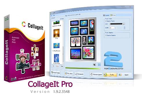 دانلود نرم افزار ترکیب تصاویر و ساخت کلاژ CollageIt Pro 1.9.2.3548