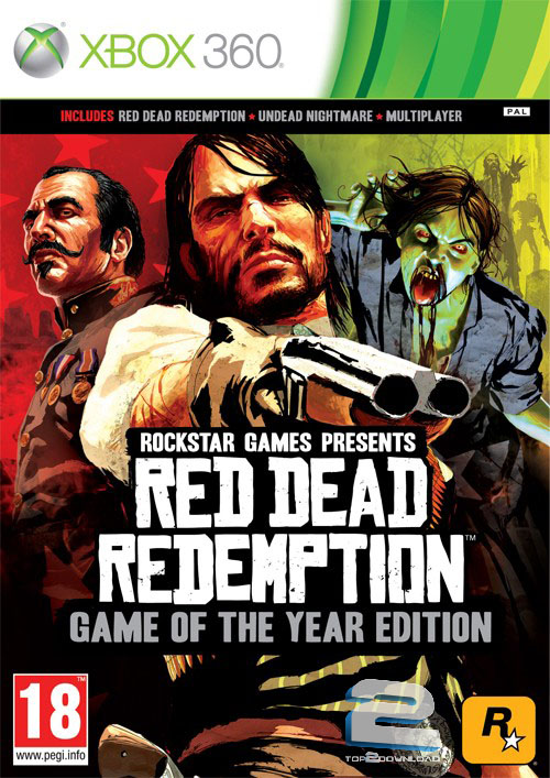 دانلود بازی Red Dead Redemption Game of The Year Edition برای XBOX360