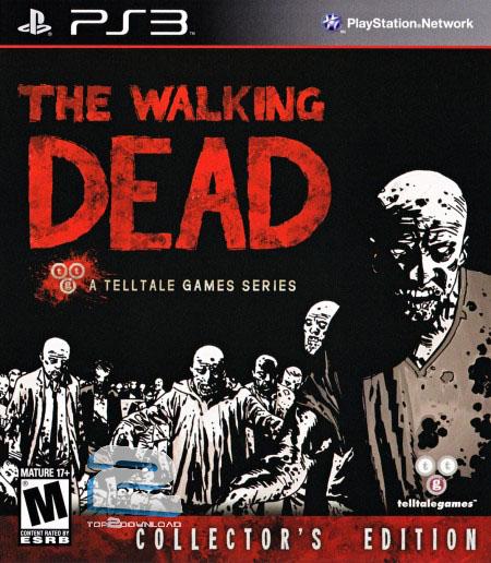 دانلود بازی THE WALKING DEAD برای PS3