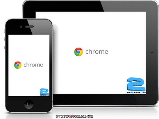 دانلود مرورگر Chrome برای ایفون