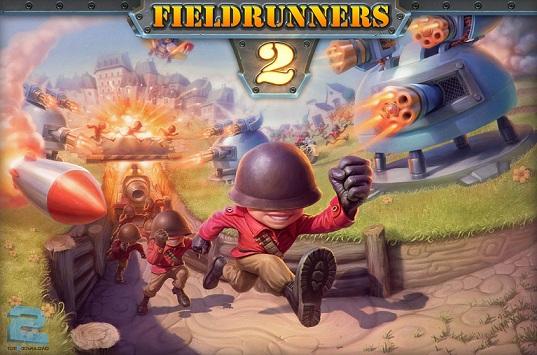 دانلود بازی اکشن و اعتیاد آور 2 Fieldrunners برای PC