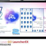 دانلود تم B Found Love GO LauncherEX v1.2 برای اندروید