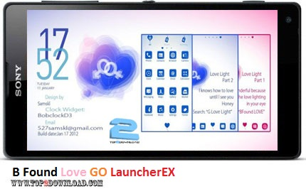 B Found Love GO LauncherEX v1.2