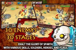 دانلود بازی Glory of Sparta v1.0.2 برای اندروید