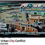 دانلود بازی Pro Sniper Urban City Conflict v1.2 برای آیفون