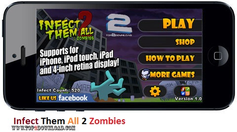 Infect Them All 2 Zombies v1.1