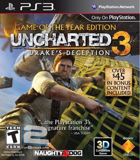 Uncharted 3 Drakes Deception GOTY   تاپ 2 دانلود