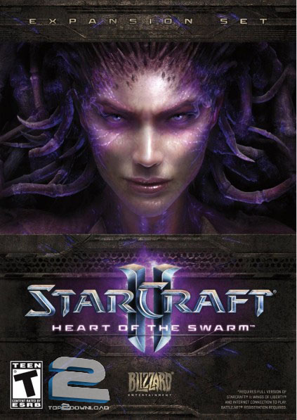 Starcraft 2 Heart Of The Swarm | تاپ 2 دانلود