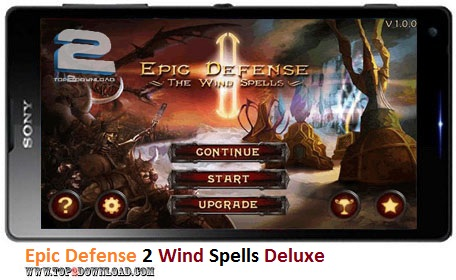 Epic Defense 2 Wind Spells Deluxe v1.0.1 | تاپ 2 دانلود