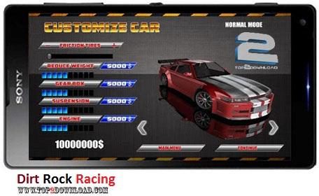 Dirt Rock Racing v1.0.7 | تاپ 2 دانلود