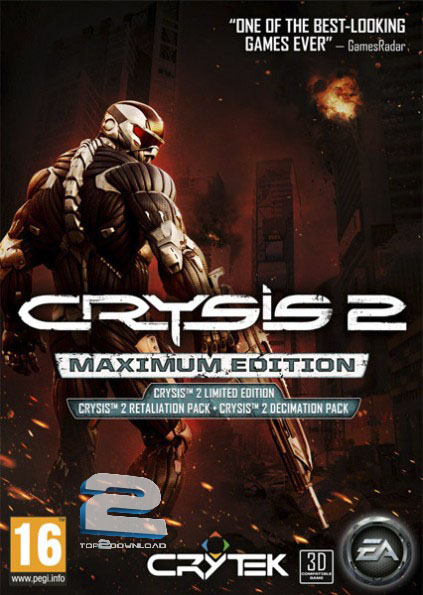 Crysis 2 Maximum Edition | تاپ 2 دانلود
