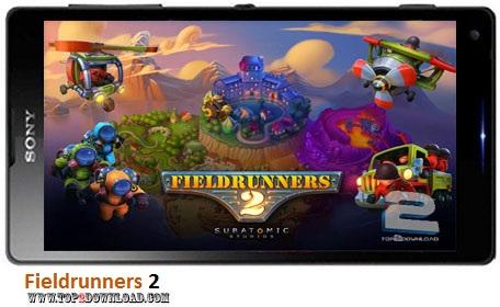 Fieldrunners 2 v1.0 | تاپ 2 دانلود