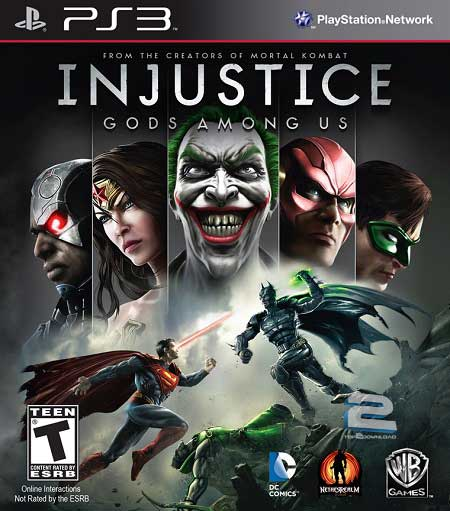 Injustice Gods Among Us | تاپ 2 دانلود