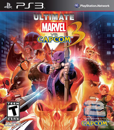 Ultimate Marvel vs Capcom 3 | تاپ 2 دانلود