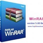 دانلود نرم افزار فشرده سازی WinRAR 5.00 Beta 1