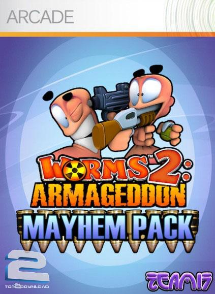 Worms 2 Armageddon   تاپ 2 دانلود