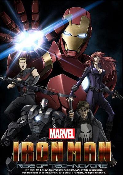 دانلود انیمیشن Iron Man Rise Of Technovore 2013 با کیفیت BluRay 1080p | تاپ 2 دانلود