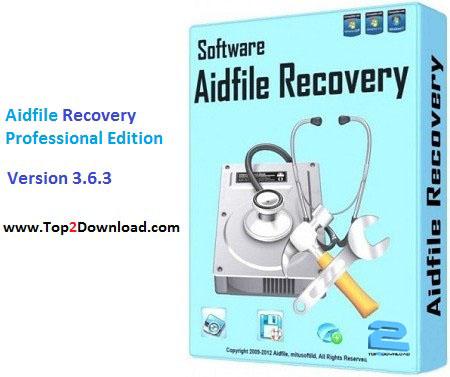 دانلود نرم افزار Aidfile Recovery Professional Edition v3.6.3 | تاپ 2 دانلود