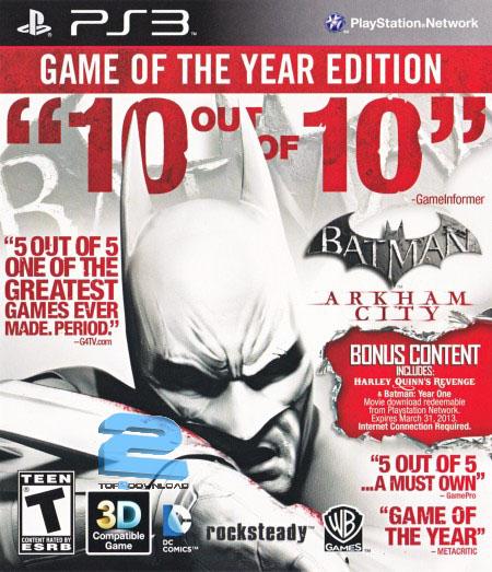 Batman Arkham City GOTY | تاپ 2 دانلود