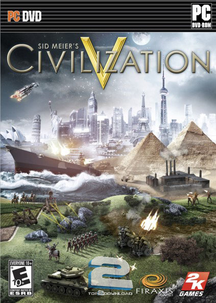 Civilization V GOLD | تاپ 2 دانلود