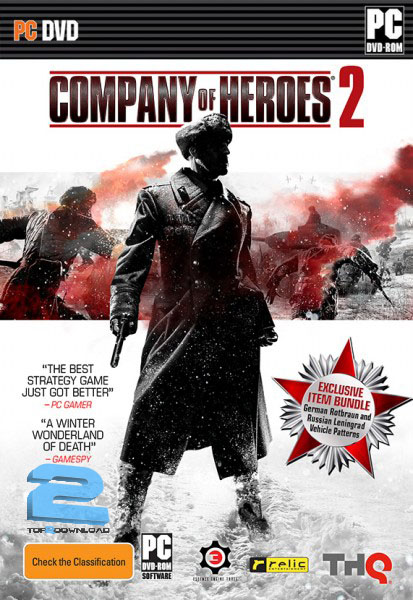 Company Of Heroes 2   تاپ 2 دانلود