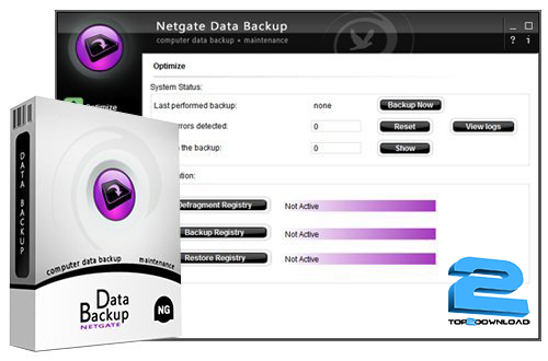 NETGATE-Data-Backup-v3.0.605 | تاپ 2 دانلود