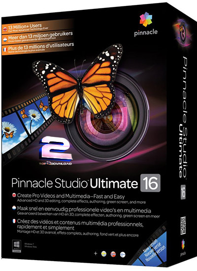 Pinnacle-Studio-16-ULTIMATE | تاپ 2 دانلود