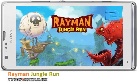 Rayman Jungle Run v2.1.1 | تاپ 2 دانلود