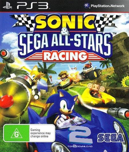 Sonic And Sega All-Stars Racing | تاپ 2 دانلود
