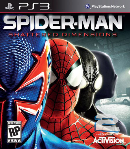 Spider-Man Shattered Dimensions | تاپ 2 دانلود