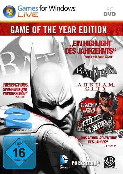 Batman Arkham City GOTY | تاپ 2 دانلود