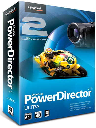 CyberLink PowerDirector 11 Ultra | تاپ 2 دانلود