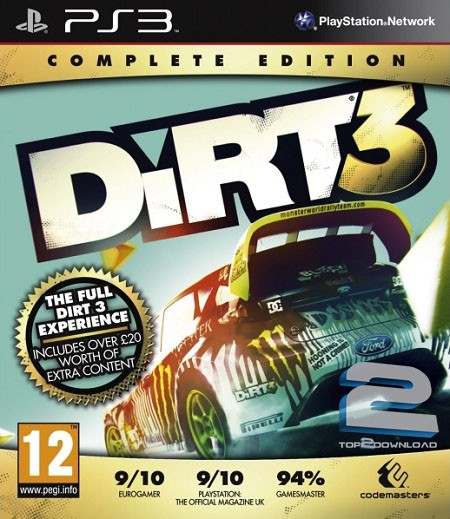 Dirt 3 Complete Edition | تاپ 2 دانلود