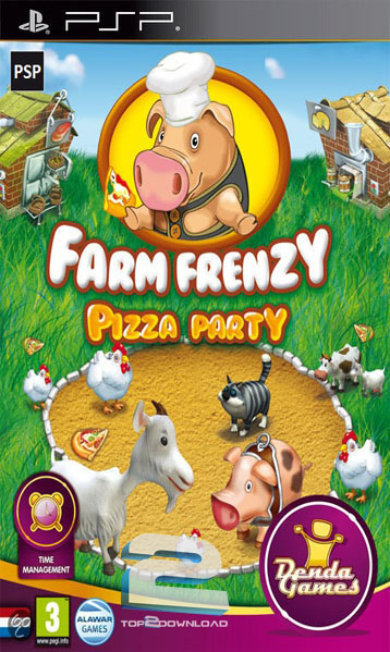 Farm Frenzy Pizza Party | تاپ 2 دانلود
