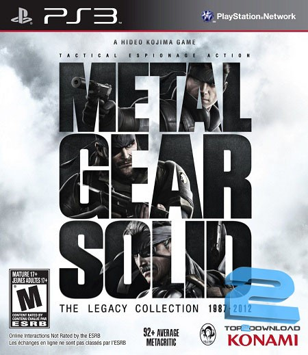Metal Gear Solid The Legacy Collection | تاپ 2 دانلود