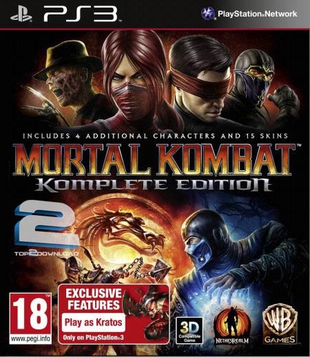 Mortal Kombat Komplete Edition   تاپ 2 دانلود